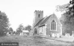Brent Eleigh, The Parish Church c.1960