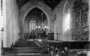 Brent Knoll, Church Interior 1903
