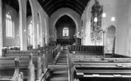 Brent Knoll, Church Interior 1913