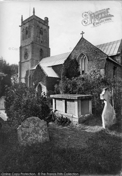 Brent Knoll, St Michael's Church 1918
