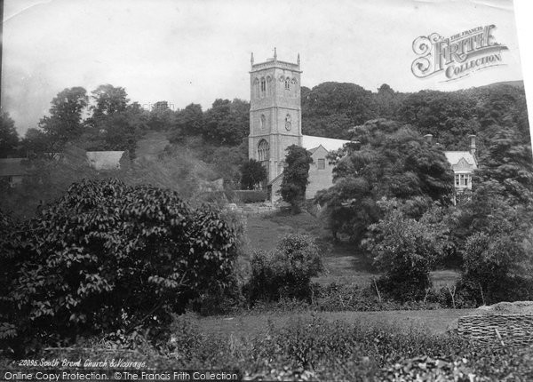 Brent Knoll, St Michael's Church And Village 1887