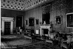 Red Drawing Room, Syon House c.1955, Brentford
