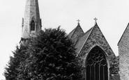Brentford, St Paul's Church c.1955