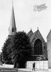 St Paul's Church c.1955, Brentford