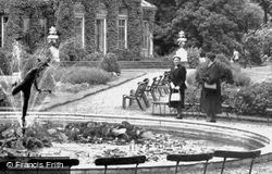 Syon House, Beside The Fountain c.1955, Brentford