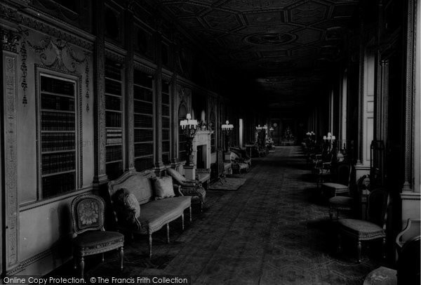 Brentford, The Long Gallery, Syon House c.1955