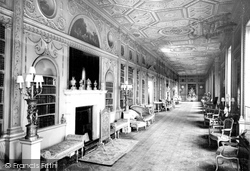 The Long Gallery, Syon House c.1960, Brentford