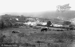 Brentor, From West 1908, North Brentor