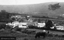 Brentor, Village 1908, North Brentor