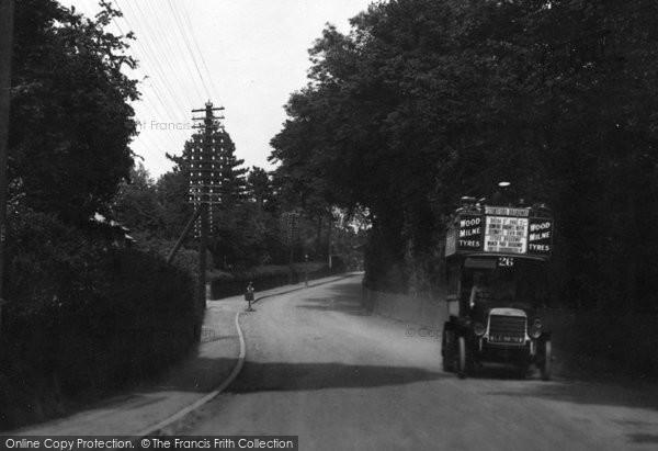 Brentwood, Brook Street Hill 1921