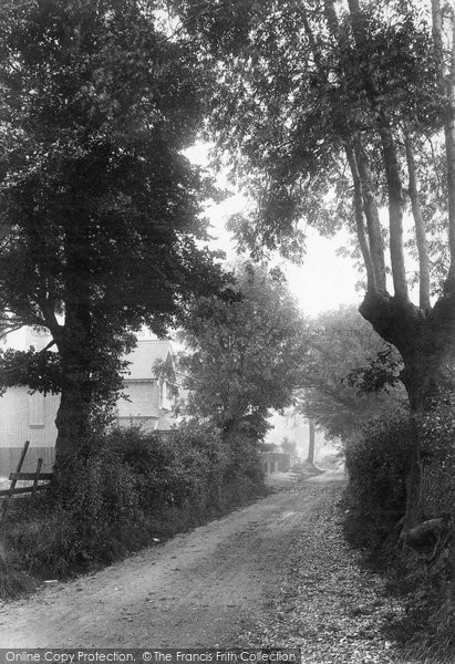 Brentwood, Burland Road 1904