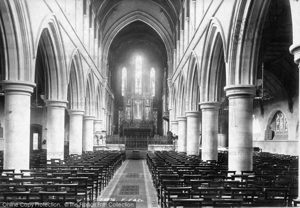 Brentwood, Church Interior 1897