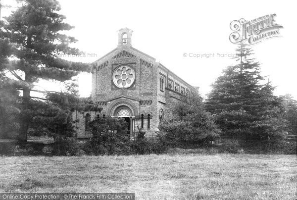 Brentwood, Garrison Church 1897