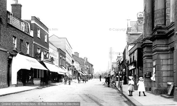 High Street, Brentwood, 1903.  (Neg. 50222)  © Copyright The Francis Frith Collection 2005. http://www.francisfrith.com