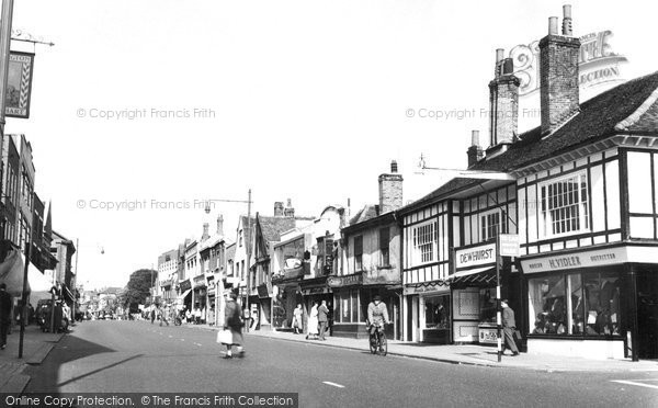Photo of Brentwood, High Street c1955, ref. b198049