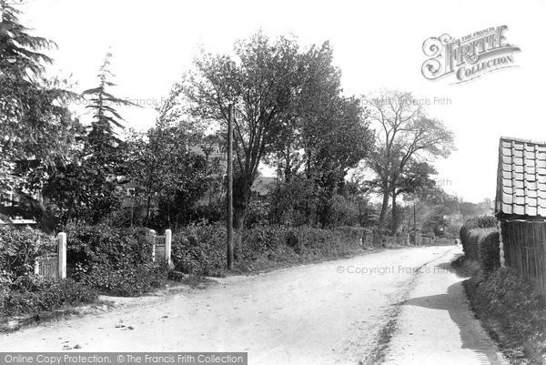 Brentwood, Ingrave Road 1907