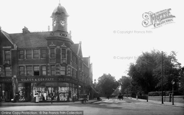Brentwood, Ingrave Road 1921