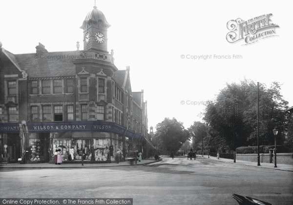 Brentwood, Ingrave Road 1921