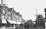 Brentwood, Ingrave Road c.1955