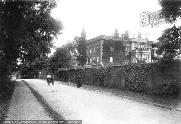 Brentwood, Middleton Hall And Lane 1906