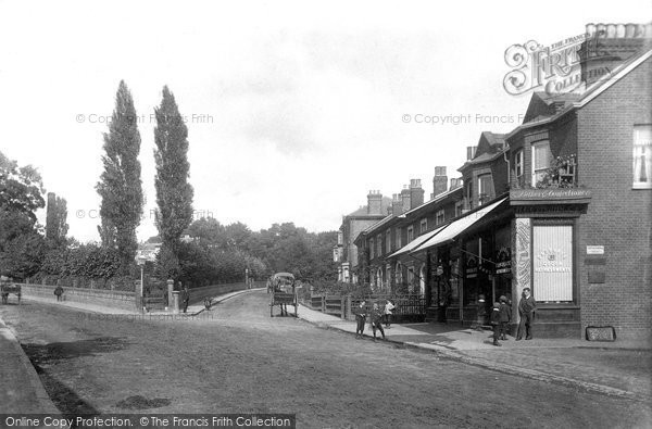 Queens Road, Brentwood, 1896 (Neg. 38653)  © Copyright The Francis Frith Collection 2005. http://www.francisfrith.com