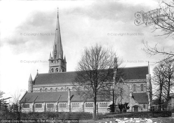 Brentwood, St Thomas Of Canterbury Church 1899
