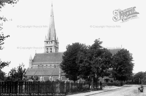 Brentwood, St Thomas The Martyr Church 1895