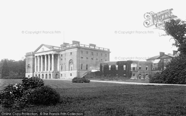 Photo of Brentwood, Thorndon Hall 1903