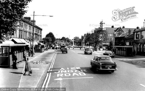 Brentwood, Town Centre c.1960