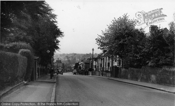 Brentwood, Warley Road c.1955