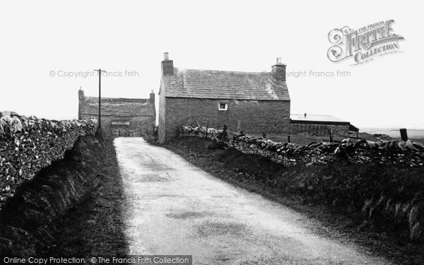Bressay, Old House c.1955