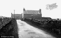 Bressay, Old House c.1955