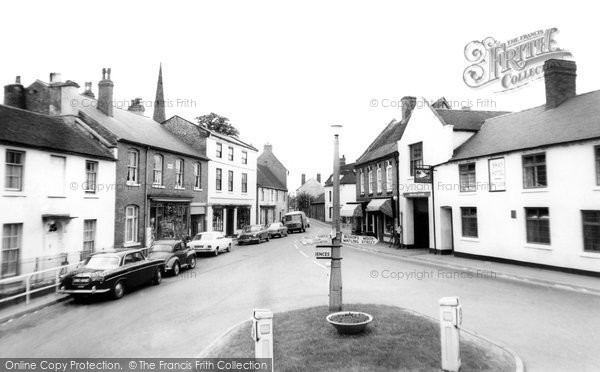 Brewood, Market Square c.1965