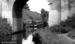 Brewood, The Canal And Bridge c.1965