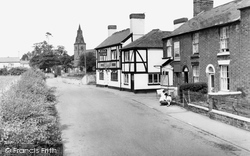 Brewood, Village And  Roman Catholic Church c.1965