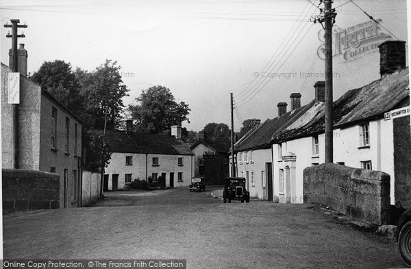 Bridestowe, The Village c.1955