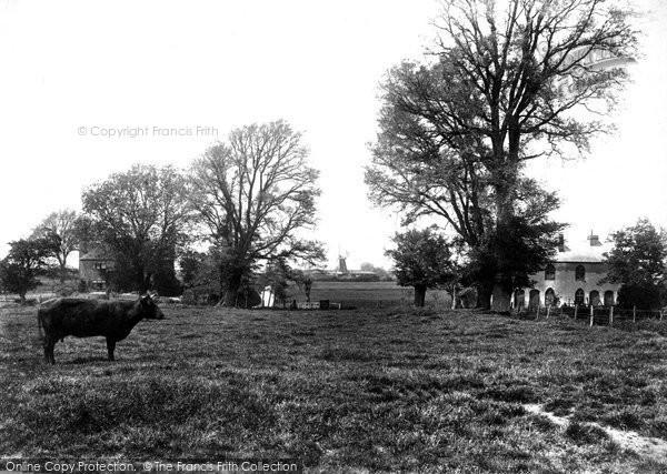 Bridge, From Church Meadows 1903