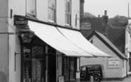 Bridge, High Street General Stores 1950