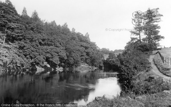 Bridge Of Allan, The River 1899