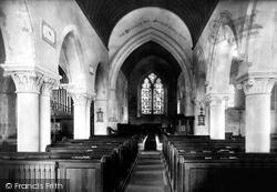 Bridge, St Peter's Church Interior 1903