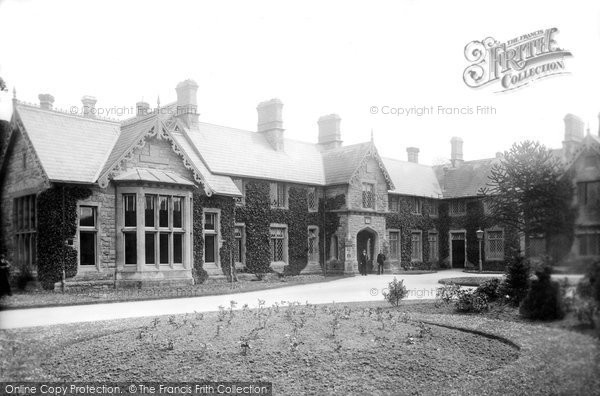 Photo of Bridgend, Angelton Asylum 1898