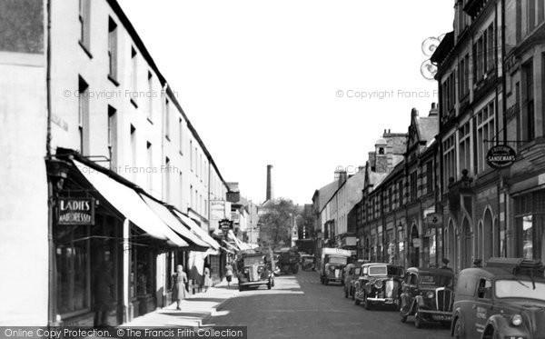 Bridgend, Caroline Street c.1955