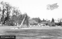 Bridgend, Children's Corner, The Park c.1955