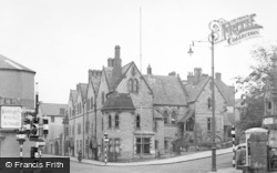 Bridgend, County Police Headquarters c.1955