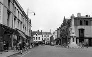 Bridgend, Dunraven Place c1950