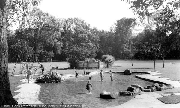 Bridgend, Newbridge Fields c.1960