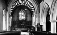 Bridgend, Newcastle Church Interior 1901
