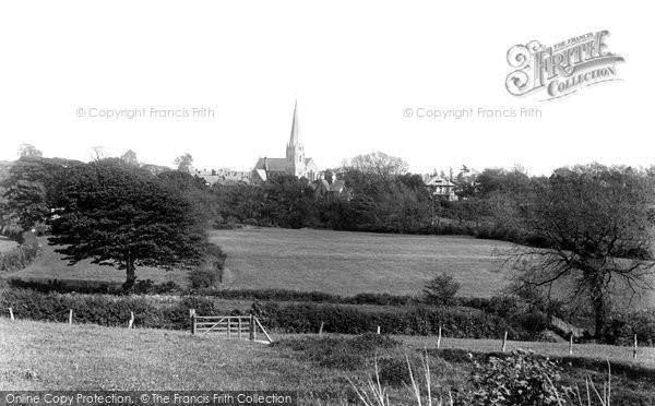 Bridgend, Nolton Church 1899
