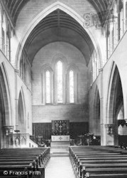 Bridgend, Nolton, St Mary Church Interior 1898