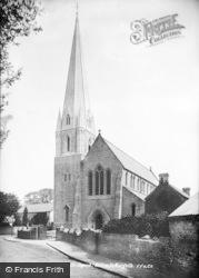 Bridgend, Nolton, St Mary's Church 1897